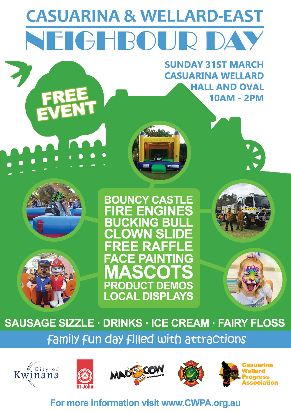 Casuarina Wellard Progress Association - Neighbour Day 2019